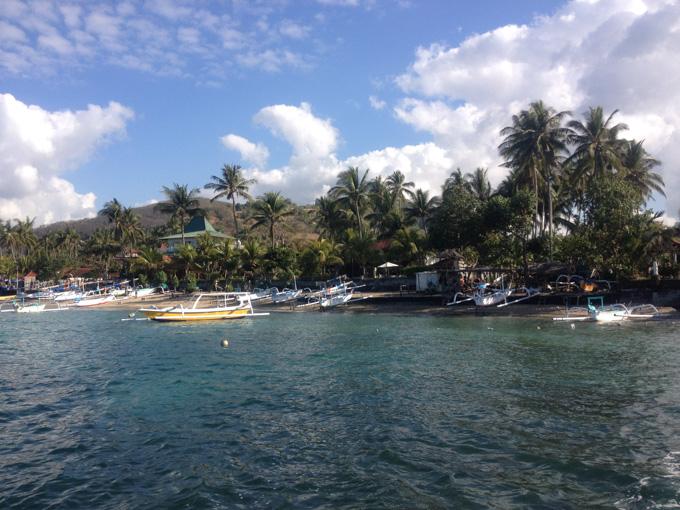 バリ チャンディダサの海